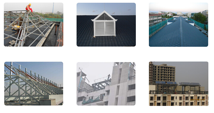 屋面钢结构项目是楼顶需增加钢结构的项目